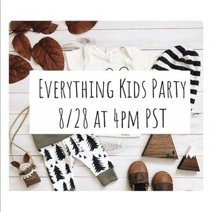 Other - EVERYTHING KIDS Posh Party 8/28 🎉🎊
